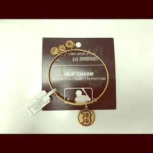 ALEX & ANI - Boston Red Sox Bracelet Gold